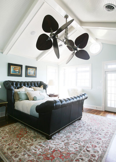Traditional Bedroom by Echelon Custom Homes - Are Ceiling Fans The Kiss Of Death For Design?