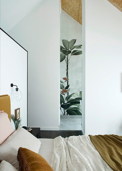 Contemporary Bedroom by Studio Origami
