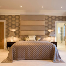 Contemporary Bedroom by DESIGNER TOUCHES LTD