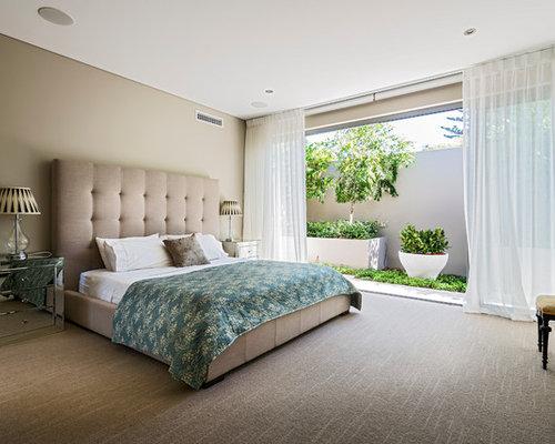 Beige Master Bedroom Houzz