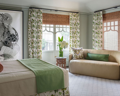 Green And White Curtains Ideas, Pictures, Remodel and Decor