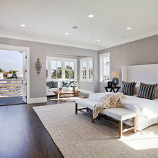 Transitional Bedroom by White Picket Fence, Inc