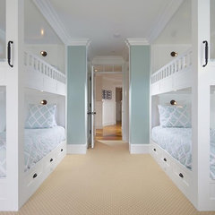 traditional bedroom by Patterson Construction Corporation