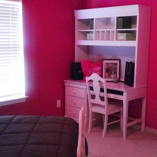 Exemple d'une chambre chic de taille moyenne.