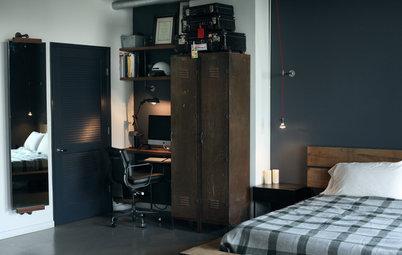 Dormitorio: Cómo darle un toque industrial aunque no vivas en un loft