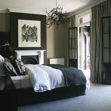 Dano master bedroom moody walls - best