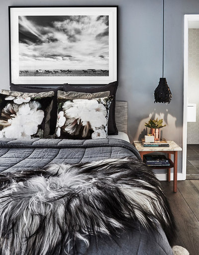 Contemporary Bedroom by The Designory