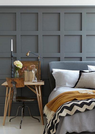 Transitional Bedroom by Jenny Bond Interiors