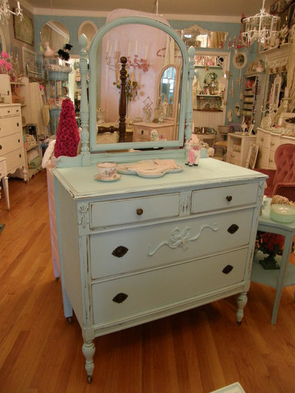 Eclectic Bedroom by Donna Thomas Vintage Chic Furniture