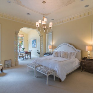 Example of a tuscan bedroom design in Orlando