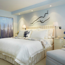 Transitional Bedroom by Annie Santulli Designs