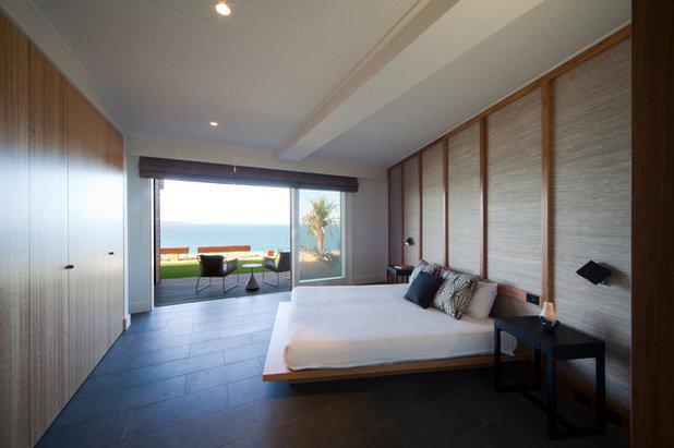Contemporáneo Dormitorio by justin long design