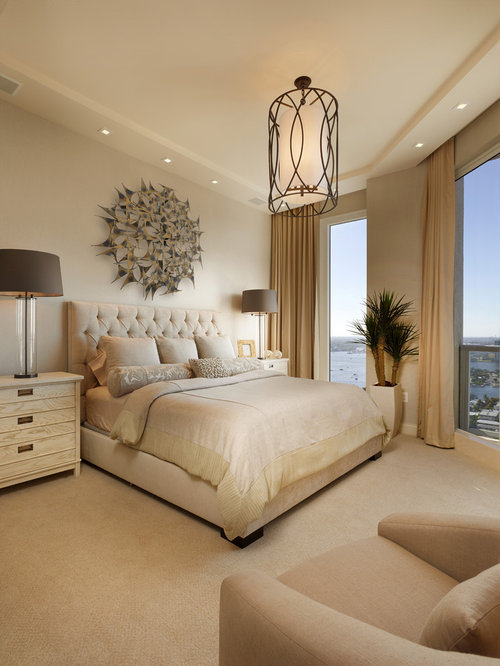 Bedroom design ideas remodels photos houzz - Bed design pics ...