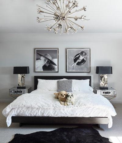 Contemporary Bedroom by RoomSecret