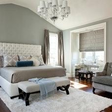 Contemporary Bedroom by Caroline Burke Designs & Associates, Inc.