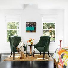 Contemporary Bedroom by Hugh Jefferson Randolph Architects