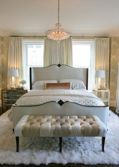 American Traditional Bedroom by Summer Thornton Design, Inc