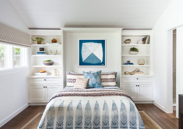 Transitional Bedroom by Space10 Interiors