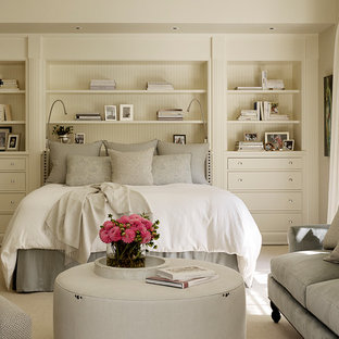 Inspiration for a timeless bedroom remodel in San Francisco