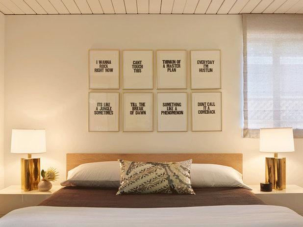 Midcentury Bedroom by yamamar design