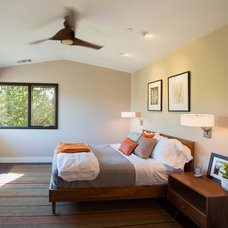 Midcentury Bedroom by Fiorella Design