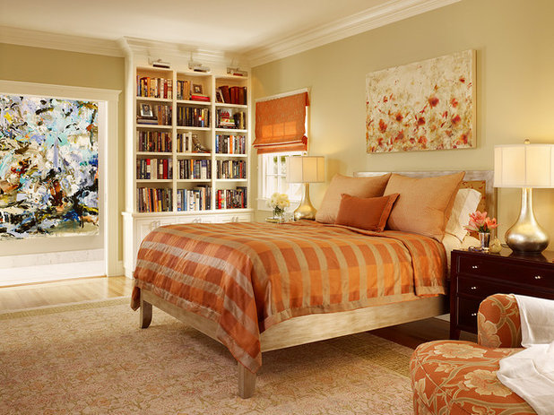 Transitional Bedroom by Coddington Design