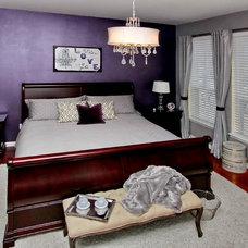 Traditional Bedroom by cruz interiors inc