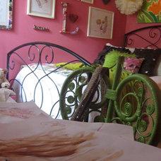 Eclectic Bedroom Pancake Princess