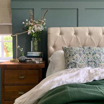 Panelled Master Bedroom