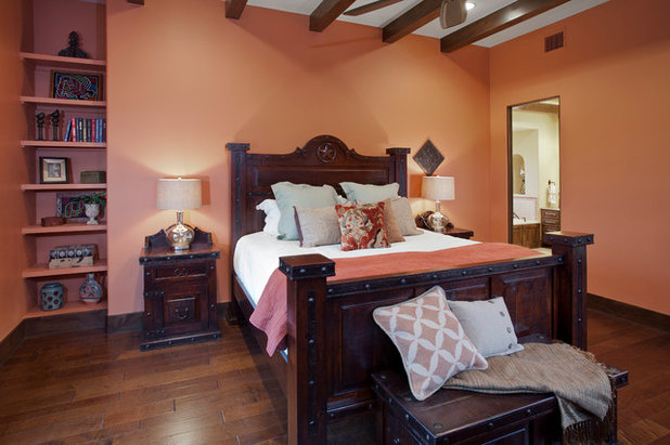 American Southwest Bedroom by Bella Villa Design Studio