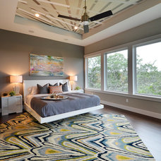 Contemporary Bedroom by Pillar Custom Homes, Inc.
