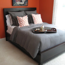 Contemporary Bedroom by Geitgey's Amish Country Furnishings