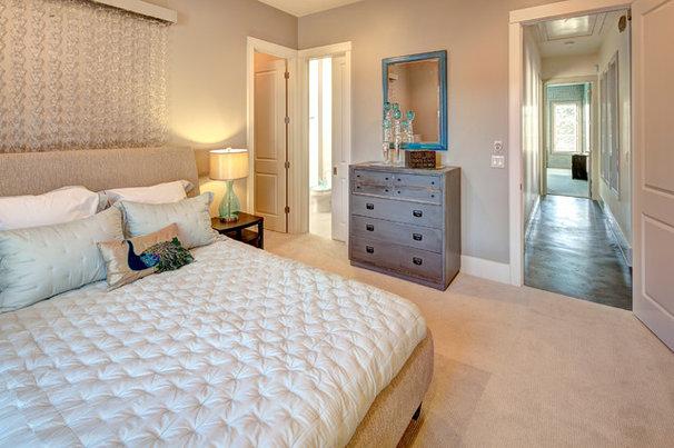 Contemporary Bedroom by Robin Bond Interiors
