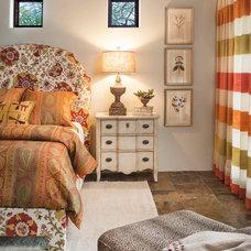Mediterranean Bedroom by Wiseman & Gale Interiors
