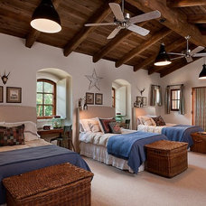 Southwestern Bedroom by Calvis Wyant Luxury Homes