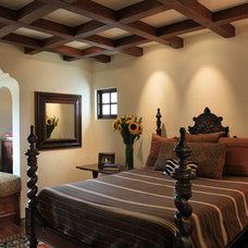 Mediterranean Bedroom by PavoReal Interiors