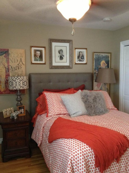 Eclectic Bedroom by Janeane Pittman Interior Design