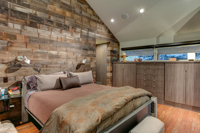 Contemporary Bedroom by Marwood Design LLC