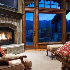 Contemporary Bedroom by Utah Real Estate