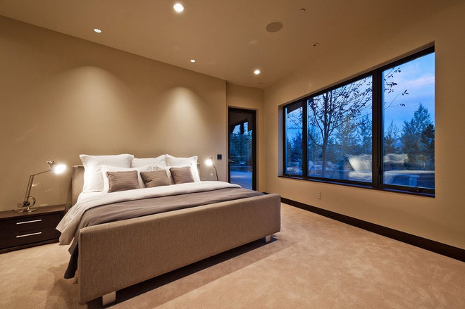 Contemporary Bedroom by CD Construction, Inc.