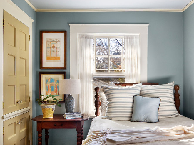Traditional Bedroom by Francis Dzikowski Photography Inc.