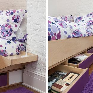 Modelo de dormitorio contemporáneo pequeño