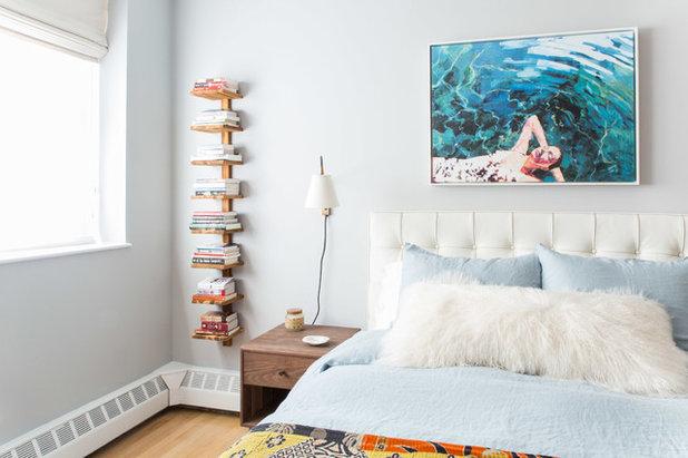 Midcentury Bedroom by Luna Grey Interiors