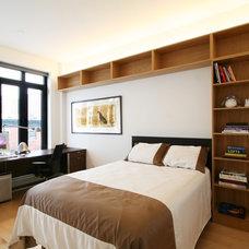 Contemporary Bedroom by KIMOY Studios
