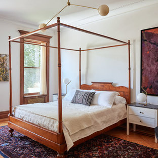 traditional bedroom design. Fine Traditional Example Of A Classic Medium Tone Wood Floor And Brown Bedroom Design  In New York And Traditional Bedroom Design C