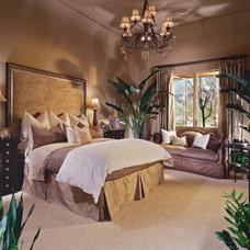 Traditional Bedroom by Simpson Design Associates, LLC