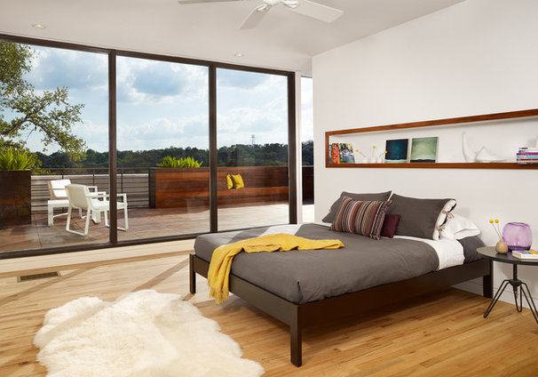 Modern Bedroom by RisherMartin Fine Homes