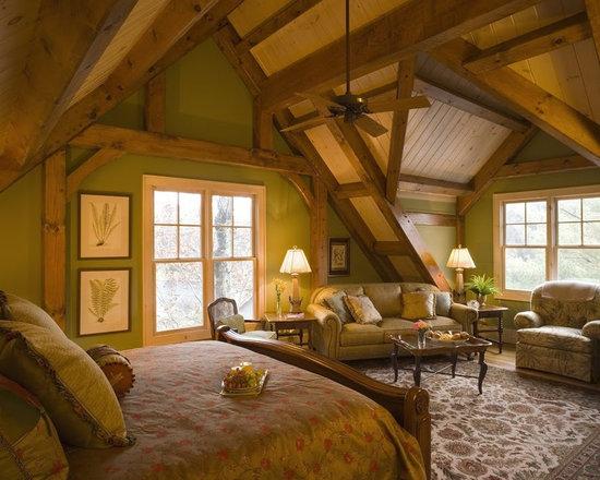 expansive craftsman bedroom design ideas, remodels & photos | houzz