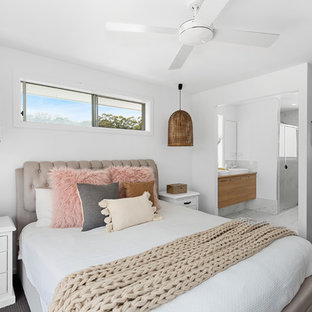 Beach style bedroom in Other.