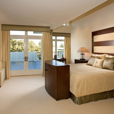 Contemporary Bedroom by Cynthia Bennett & Associates